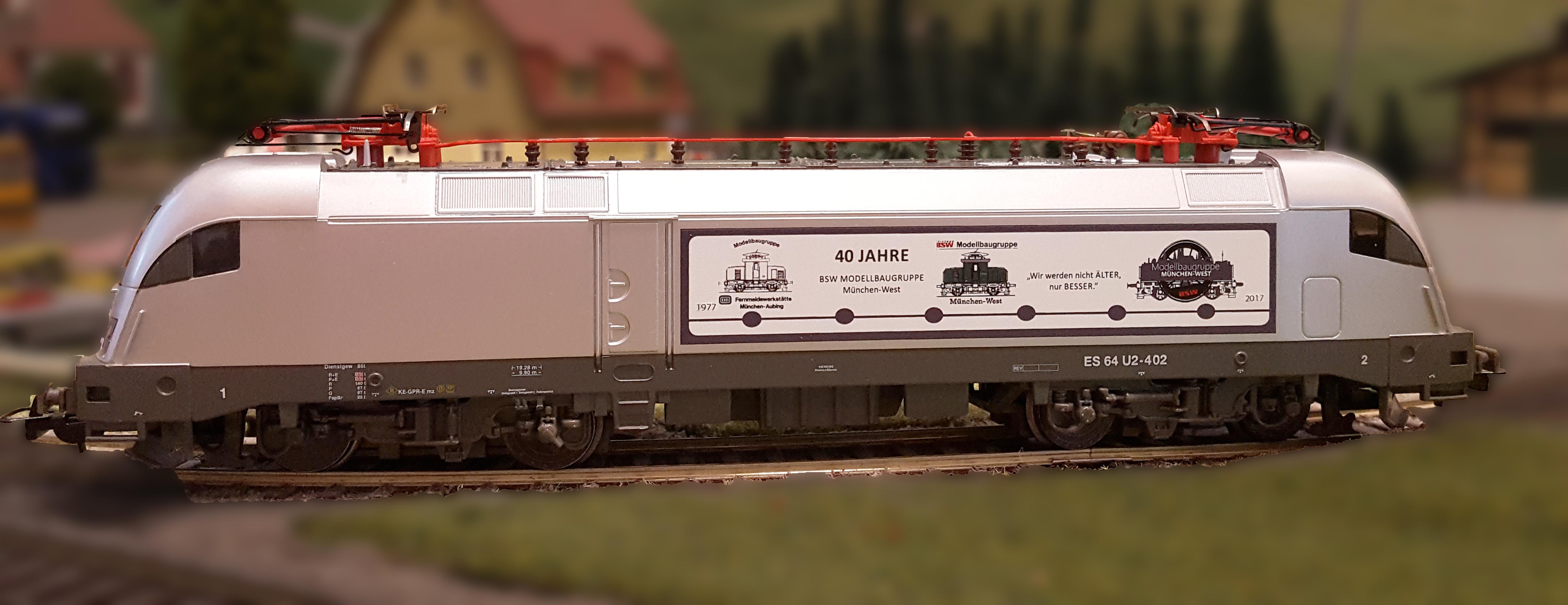 40 Jahre BSW-Modellbaugruppe München-West